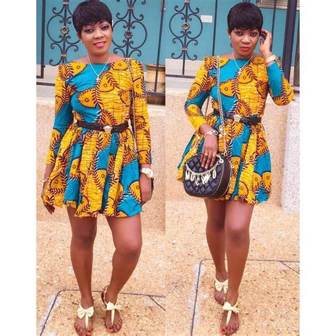 Images Of Styles With Ankara | here are the best ankara styles for teenagers beautiful