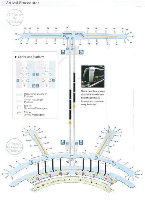 incheon airport floor plan incheon airport arrival procedure in south korea seoul