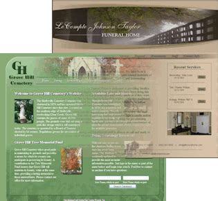 funeral home website design driverlayer search engine