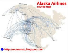 international flights alaska airlines route map