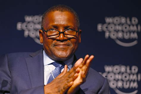 biography of dangote aliko dangote shifts focus from cement to oil and gas signal