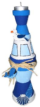 Kerzenhalter Leuchtturm by Leuchtturm Kerzenhalter Basteln