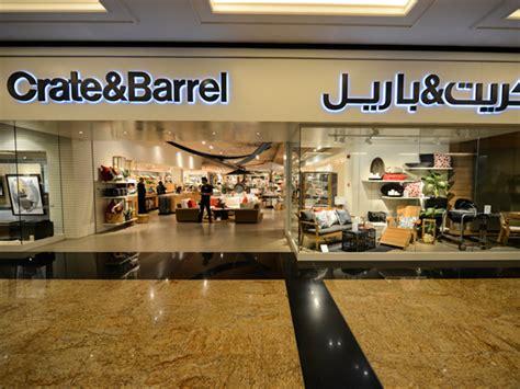 crate and barrel crate barrel dubai shopping guide