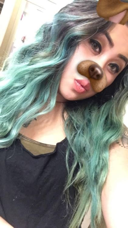 colored hair with colored hair on