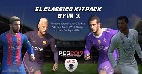 Diskon Patch Fifa Wcc Real Madrid 2014 Pes 2017 El Classico Kitpack By Mri 20 Pes Patch