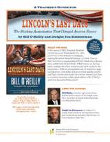 lincolns last days s guide for lincoln s last days by bill o reilly