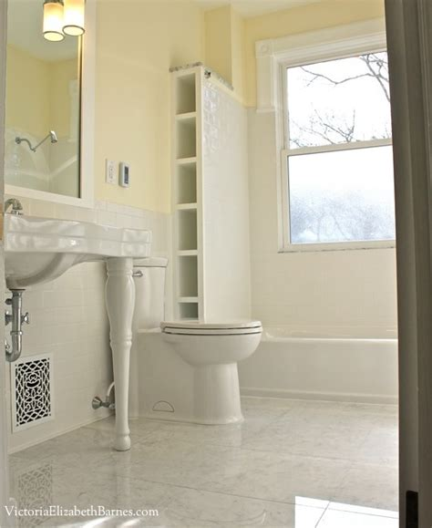 windows in bathrooms solution to the large window in the shower simple diy cover