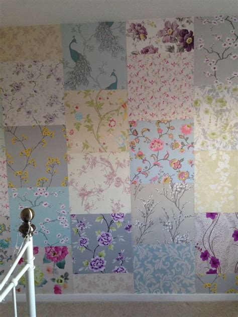 d patches on walls in bedroom 25 best images about patchwork wallpapering on pinterest
