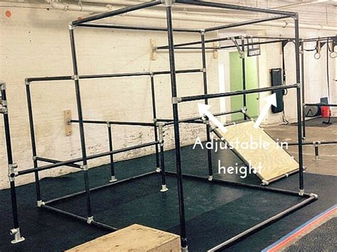 Backyard Parallel Bars Diy Parkour Gym Equipment The Ultimate Guide To Pipe
