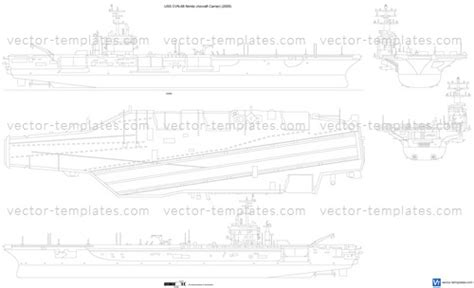 templates ships carriers us uss cvn 68 nimitz