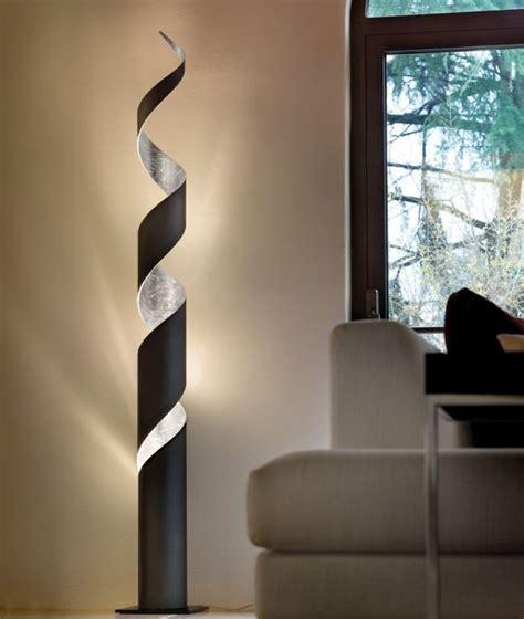 stehle wohnzimmer tolle design stehleuchte mit stoffschirm ein hingucker im