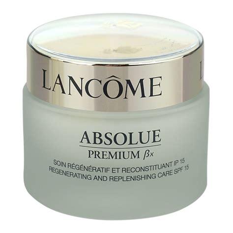 Lancome Absolue Premium lanc 244 me absolue premium 223 x cr 232 me de jour raffermissante