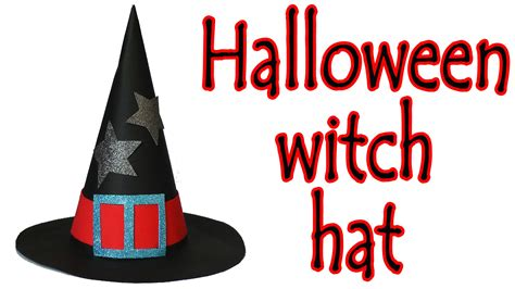 How To Make A Witch Hat Out Of Paper - crafts how to make a witch hat diy