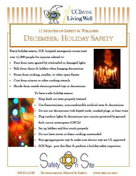 free christmas tree safety tips uc irvine wellness