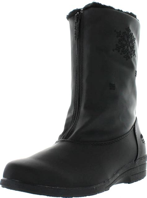 totes waterproof womens boots totes womens staride 2 waterproof snow boots ebay