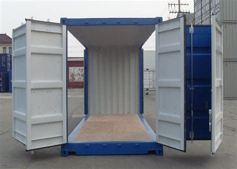 Modified Storage Container by Two Sides Open Modified Shipping Containers Movable