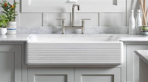 kohler white farmhouse sink farmhouse sinks what i think of the trend after