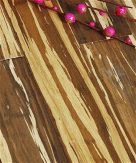 Tiger Stripe Strand Woven Bamboo Flooring   1850x130x14mm