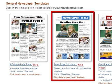 newspaper layout for microsoft word 2007 how to make a newspaper on microsoft word with pictures