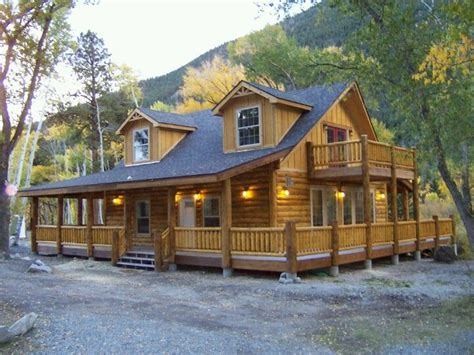 Manufactured Log Cabin Homes by Modular Home Pre Built Modular Homes