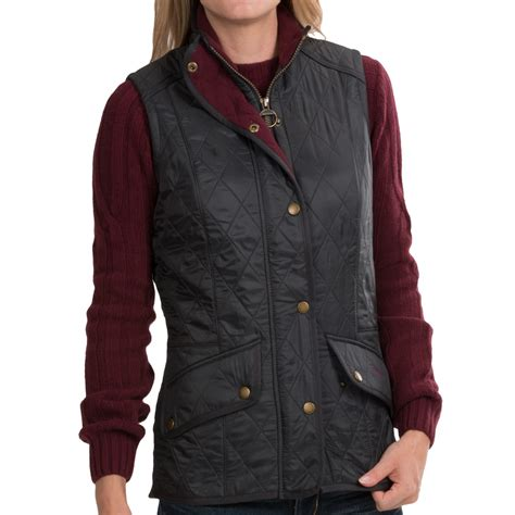 barbour cavalry quilted vest for 8666u save 55