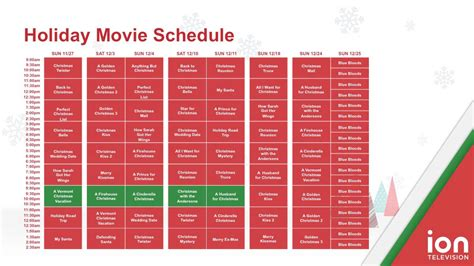 printable schedule of hallmark christmas movies its a wonderful movie your guide to family and christmas