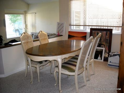 how to redo a dining room table i m a yarner dining room table redo