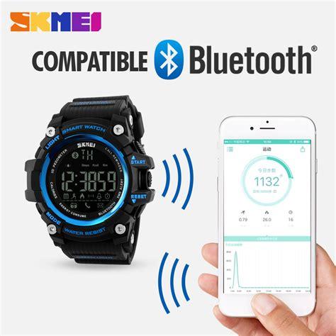 Smart Skmei 1226 Bluetooth Pedometer Smart skmei smart bluetooth sports fitness tracker calorie pedometer pedometer