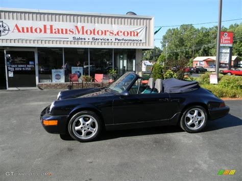 porsche midnight blue 1993 midnight blue metallic porsche 911 carrera cabriolet