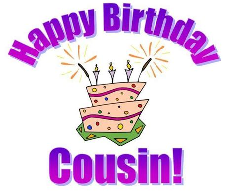 Happy Birthday Cousin Clipart dustfingerlover images i you cousin hd wallpaper and
