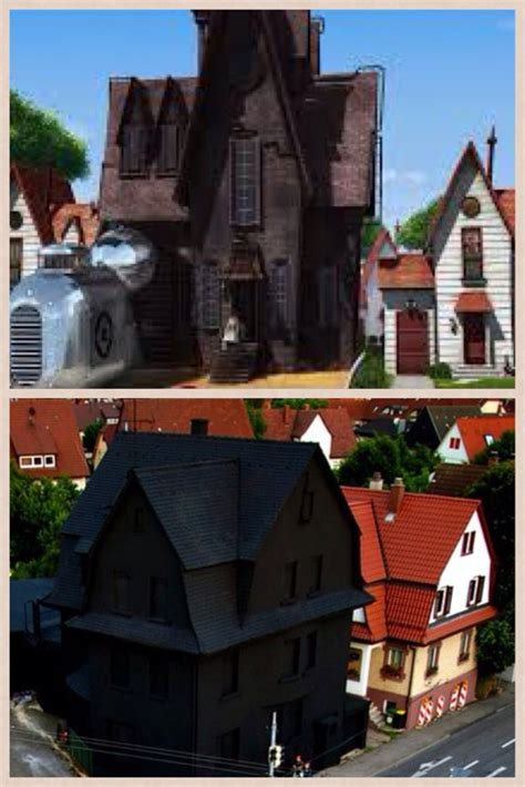 all black house my immediate thought when i seen the all black house in germany despicable me pics