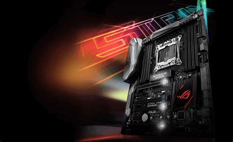 Asus Strix X99 Gaming Socket 2011 placa mae asus strix x99 gaming intel lga 2011 v3 usb 3 1