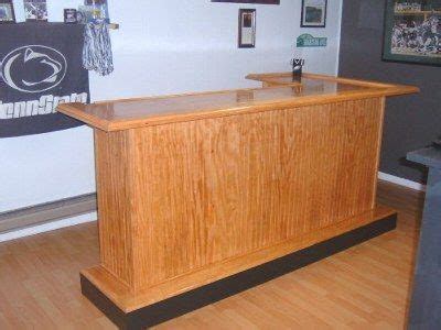 Handmade Bars - bar plans bar portable
