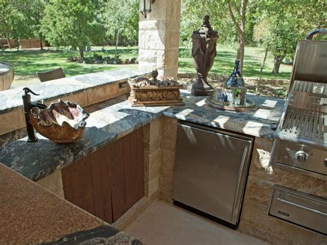 outdoor kitchen with sink outdoor kitchen sinks pictures ideas tips from hgtv hgtv