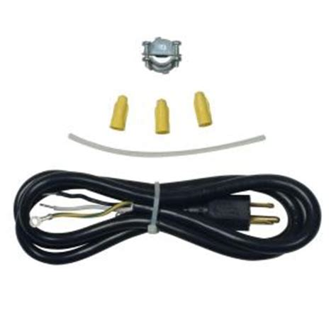 whirlpool 3 prong dishwasher power cord kit 4317824 the