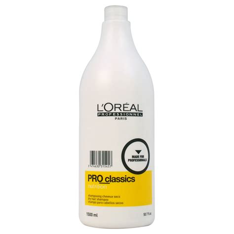 Shoo Loreal Professional l oreal pro classics nutrition shoo for hair