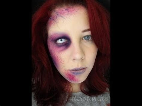 zombie makeup tutorial no latex mutated zombie makeup tutorial without latex