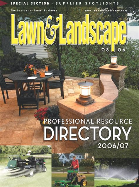 free lawn landscape magazine the green head