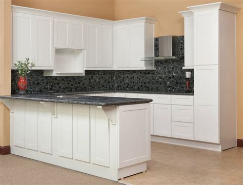 all wood kitchen cabinets 10x10 brilliant white shaker rta