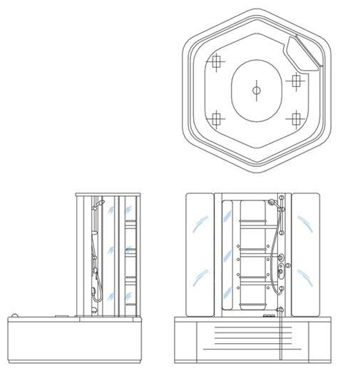 doccia angolare dwg doccia angolo dwg idee creative di interni e mobili