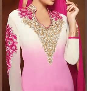 top 10 popular punjabi salwar kameez suits neck designs