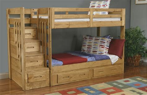 bunk beds with drawers blueprints for bunk beds with stairs storage creative
