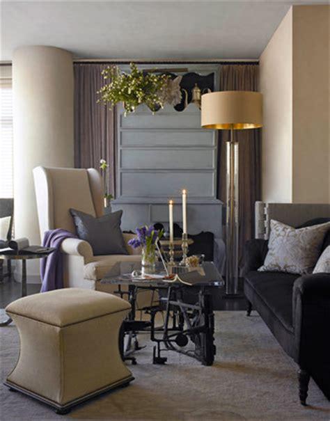 Neutral Gray Living Room Colour Inspiration From Artist Mclaughlin Way Sabi