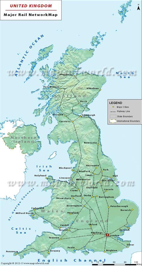 map in uk uk rail map uk rail network map