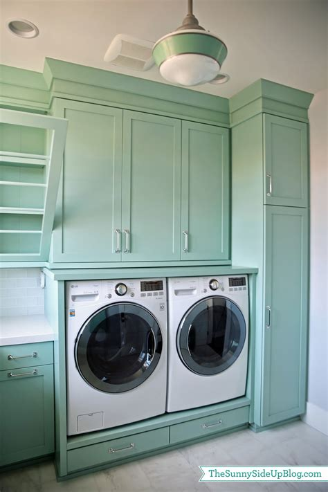 washer and dryer cabinets upstairs laundry room the sunny side up blog