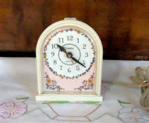 vintage timex clock bedroom alarm clock by misstiques