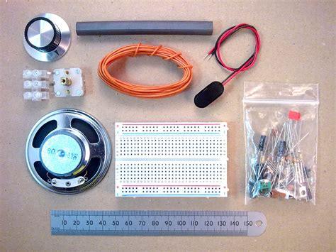 circuit breadboard kit solderless breadboard six transistor mw am radio kit of parts ebay