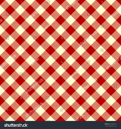 tablecloth pattern vector tablecloth red checkered pattern stock vector