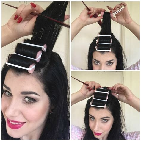 Hair Curlers For Hair How To Use by 17 Best Ideas About Roller Set On Roller Set