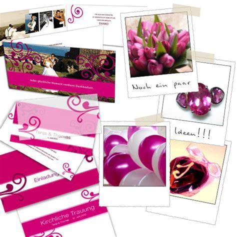 Hochzeitseinladung Ornament by Hochzeitseinladung Ornamente En Vogue Pink